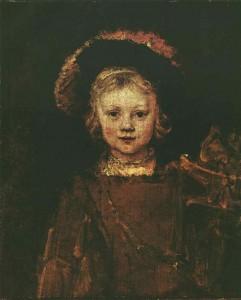 Titus hijo de rembrandt